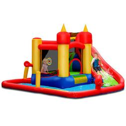 Outdoor Inflatable Water Slide Jumping Bounce House Splash P