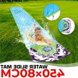 Outdoor Inflatable Water Slide Mat Lawn Children Summer Pool