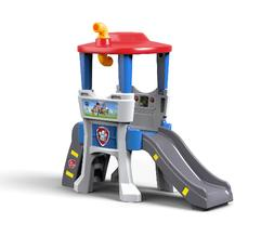 Outdoor Play Step2 Paw Patrol Lookout Climber with Slide and