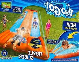 Inflatable Water Slide Double Pool Kids Park Backyard Splash