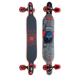 "DB Longboards Pioneer 38"" Mountains Drop Through Maple Longb"