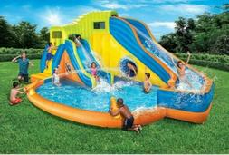 Banzai Pipeline Twist Aqua Park  Inflatable Outdoor Water Po