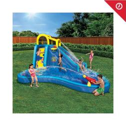 Banzai Pipeline Twist Kids Inflatable Outdoor Water Park Poo