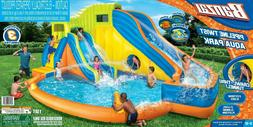 Banzai Pipeline Twist Kids Inflatable Outdoor Water Pool Aqu