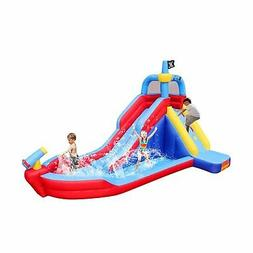 BestParty Pirate Boat Inflatable Water Slide Water-Park Boun