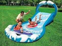 Inflatable Water Slide Play Center 2 Surf Rider Kids Out Doo