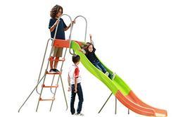 SLIDEWHIZZER Indoor Outdoor Kids Playground Slide: 10-FT Fre
