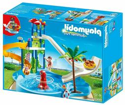 PLAYMOBIL 6669 WATER PARK with Slides - New in Box