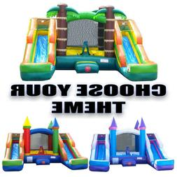 Pogo Kids Premium Inflatable Bounce House With Double Water