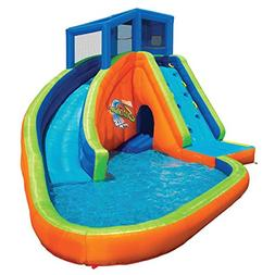 Outdoor Pool Water Park Sidewinder Falls With Slides And Can