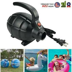 portable 550w electric air pump for inflatable