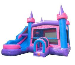 Princess Commercial Inflatable Water Slide Kids Bounce House