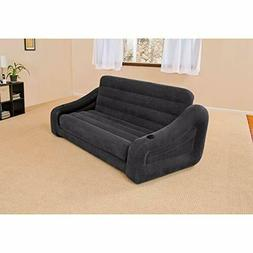 """Pull-out Sofa Inflatable Bed, 76"""" X 87"""" X 26"""", Queen"""