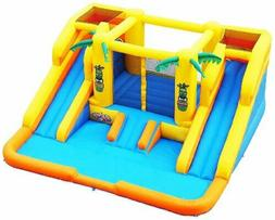 Blast Zone Rainforest Rapids Inflatable Water Park Bouncer w