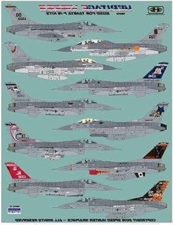 RAPSH48013 1:48 Speed Hunter Graphics - F-16A F-16C F-16D Fa