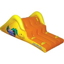 "Aviva RAVE Sports Slick Slider Island Pool Water Slide / 85"""