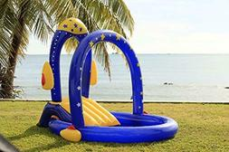 Rocket Pool with Water Slide | Best Inflatable Playground wi