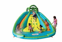 Little Tikes Rocky Mountain River Race Inflatable Slide Boun