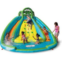 Rocky Mountain River Race Inflatable Water Slide Bouncy Cast