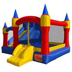 Cloud 9 Royal Slide Bounce House - Inflatable Bouncing Jumpe