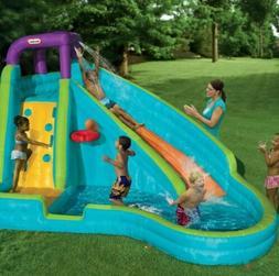 slam n curve children s water slide