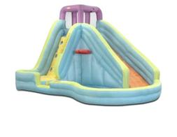 Little Tikes Slam 'n Curve Inflatable Water Slide with Blowe