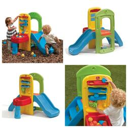 Slide for Toddlers Indoor Outdoor Climbing Playset Ball Acti