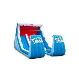 Slide N' Shoot Double Water Slide by Sportspower