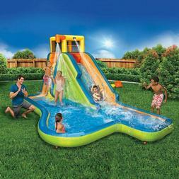 Banzai Slide n Soak Splash Park 90321 With Blower! Fun 4 Kid
