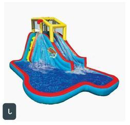 BANZAI Slide N Soak Splash Park Inflatable Outdoor Kids Wate