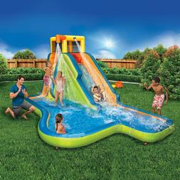 NEW Banzai Slide 'N Soak Splash Park Inflatable Waterslide w