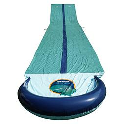 TEAM MAGNUS Slip and Slide XXL with Dual Racer Lanes, Water-
