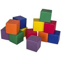 Costzon Soft Blocks, Toddler Block Playset, Premium PU Leath