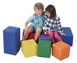 ECR4Kids Softzone Foam Big Building Blocks, Soft Play for Ki