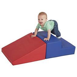 ECR4Kids SoftZone Step-n-Slide - Beginner Foam Play Structur