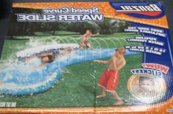 Banzai Speed Curve Toy Lawn Water Slide NEW 16 feet of Summe