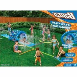 Banzai Splash 'N Slide Sprinkler Park Kids Outdoor Summer Wa