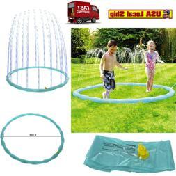 Splash Pad Sprinkler Ring Water Toys Fun Children Toddlers K