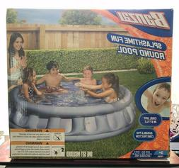 "Banzai Splashtime Fun Inflatable Round Pool 62"" NEW"