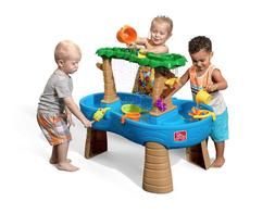 Step2 Splish Splash Seas Kids Toy Water Table & Umbrella Out