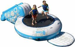 RAVE Sports O-Zone Plus Water Bouncer w Slide NIB White Blue