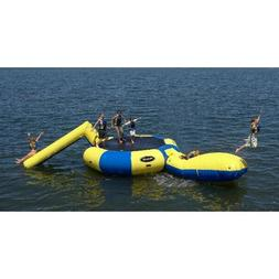 Rave Sports Water Trampoline + Launch Pad & Slide
