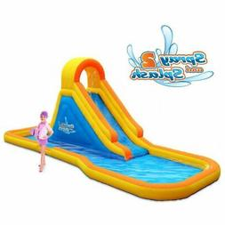 Spray N Splash 2 Water Park Inflatable Slide