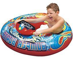 BANZAI Aqua Blast Motorized Bumper Boat - Red