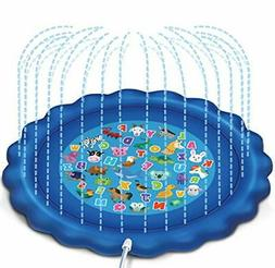 """JOYIN Sprinkler & Splash Play Mat for Learning, 68"""" Outdoo"""