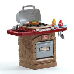 Step2 Fixin Fun Outdoor Toy Grill with 10 Piece Stack and St