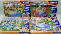 Banzai Summer Fun 5Ft Diameter Inflatable Kids 3+ Backyard A