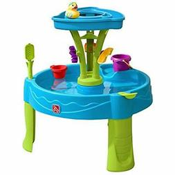 Step2 897400 Summer Showers Splash Tower Water Table, Blue