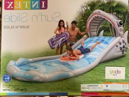 Intex Surf 'N Slide Inflatable Kids Shark Water Slide w/ 2 S