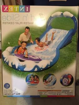 INTEX Surf 'N Slide Inflatable Kids Water Slide w/ Two Surf